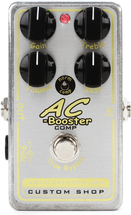 Xotic Custom Shop AC-Booster Comp Pedal image 1