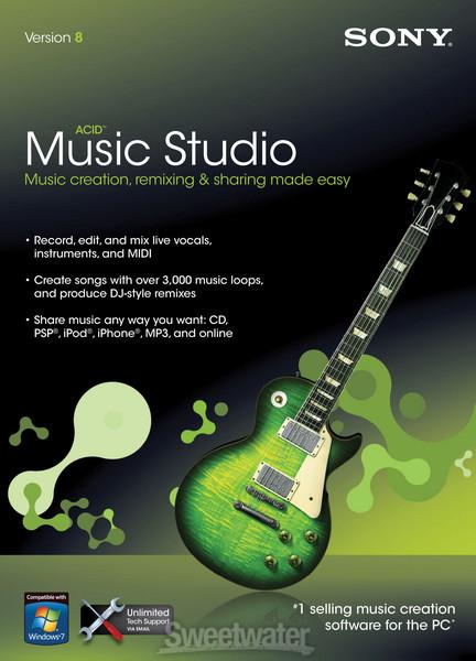 Sony ACID Music Studio 8 image 1