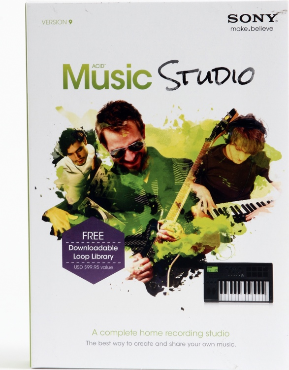 Sony ACID Music Studio 9 - Academic Version image 1
