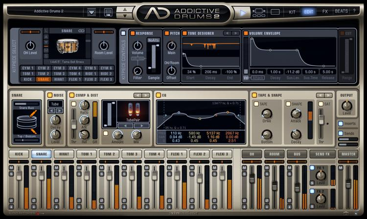 XLN Audio Addictive Drums 2 image 1