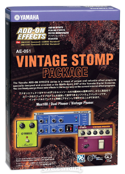 Yamaha AE0-51 Vintage Stomp Package image 1