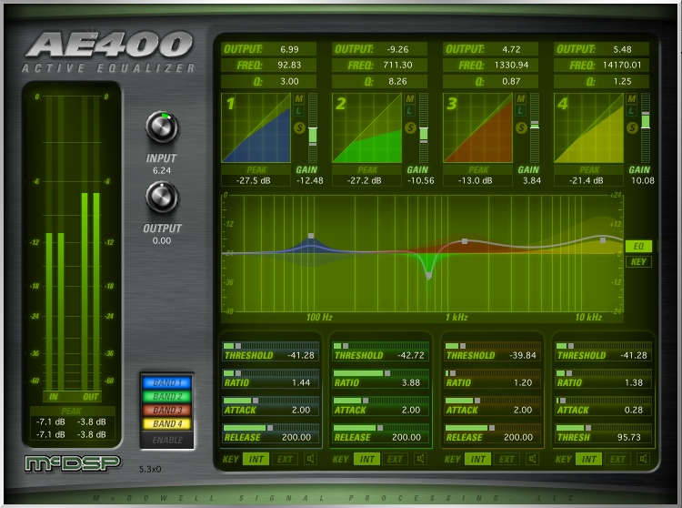 McDSP AE400 Active EQ Native v6 Plug-in image 1