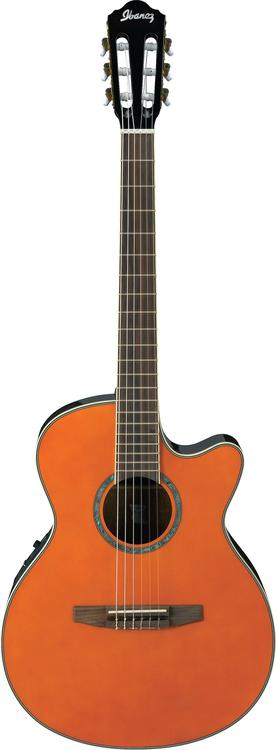 Ibanez AEG10NETNG - Tangerine image 1