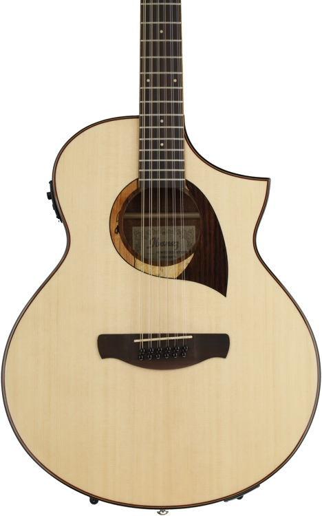 Ibanez AEW2212CD 12-string - Natural image 1
