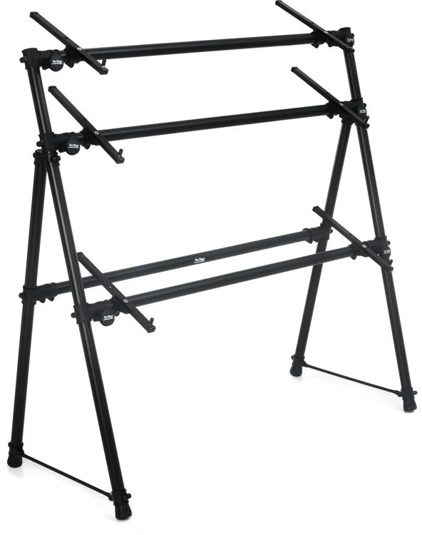 On-Stage Stands KS7903 3-Tier A-Frame Keyboard Stand image 1