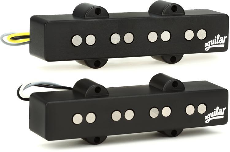 Aguilar AG 4J-HC 4-string J Bass Pickup Set - Hum-Canceling image 1