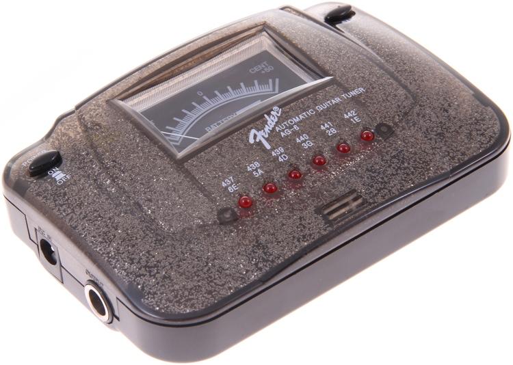 Fender AG-6 Black Sparkle Guitar Tuner image 1