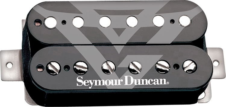 Seymour Duncan Gus G. FIRE Blackouts System Active Humbucker Pickups - Black image 1