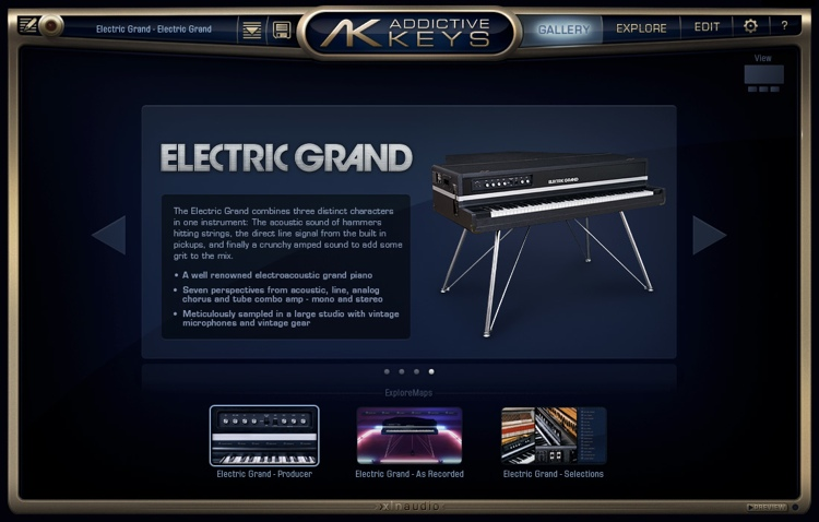 XLN Audio Addictive Keys Electric Grand image 1