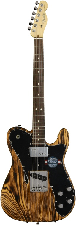 Fender American Design Telecaster - Burnt Natural Satin image 1