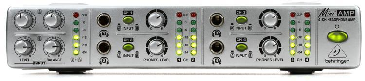Behringer MiniAmp AMP800 4-Ch Headphone Amplifier image 1