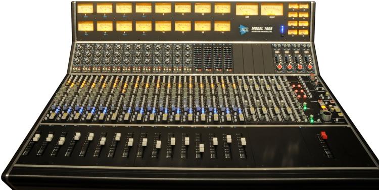 API 1608 Recording Console image 1