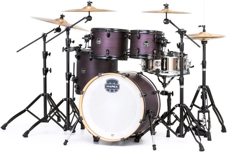 Mapex Armory 5-piece Fusion Shell Pack - Purple Haze Satin image 1
