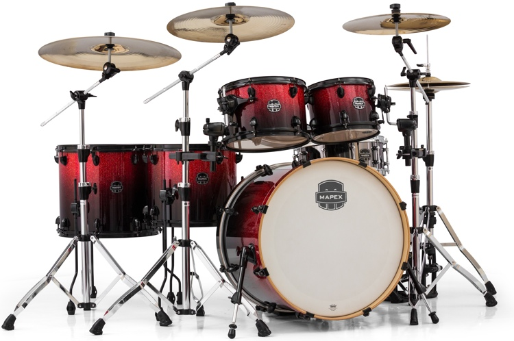 Mapex Armory 6 Piece Studioease Fast Tom Shell Pack