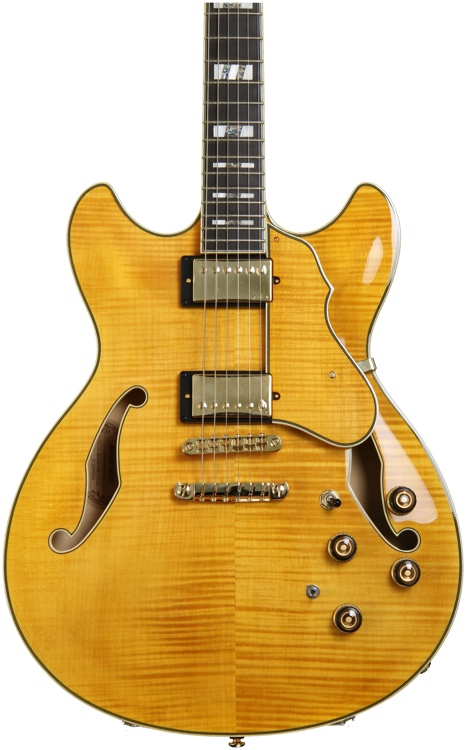 Ibanez AS153 - Antique Amber image 1