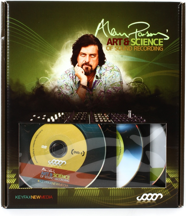 Keyfax Alan Parsons Art & Science of Sound Recording - DVD Series image 1
