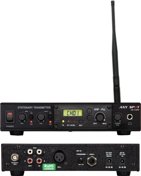 Galaxy Audio AS-TXRM Wireless Transmitter for Traveler TV8 image 1