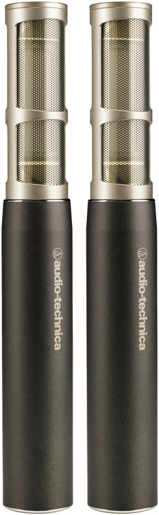 Audio-Technica AT5045 Large-Diaphragm Condenser Microphone - Matched Pair image 1