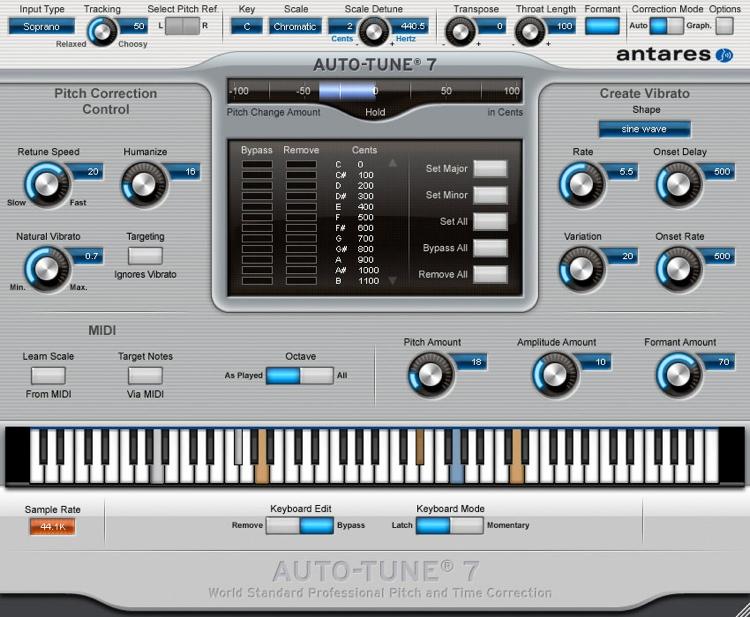 Antares Auto-Tune 7 - TDM image 1