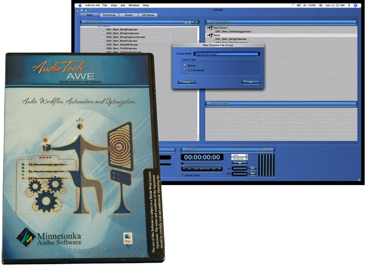 Minnetonka AudioTools AWE - Audio Workflow Engine image 1