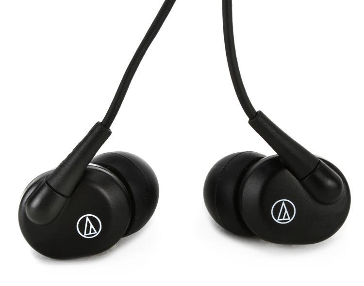 Audio-Technica EP3 Dynamic Earphones - Black image 1