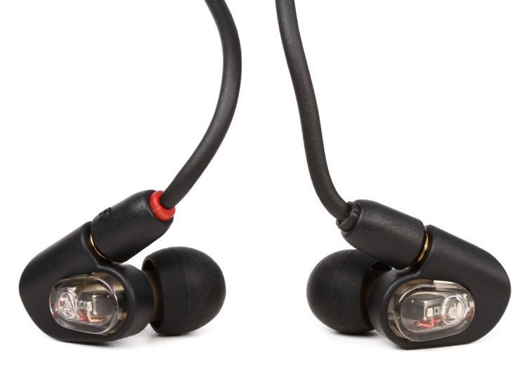 Audio-Technica ATH-E50 Monitor Earphones - Black image 1
