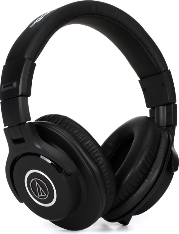 Audio-Technica ATH-M40x Closed-back Studio Monitoring Headphones image 1