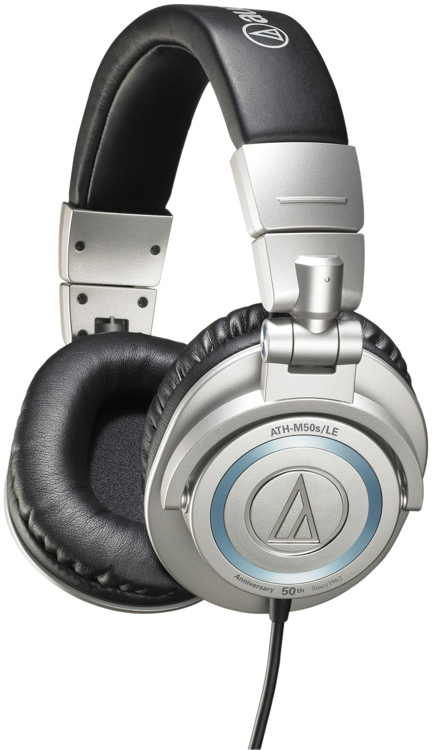 Audio-Technica Limited Edition 50th Anniversary ATH-M50s - Straight Cable image 1