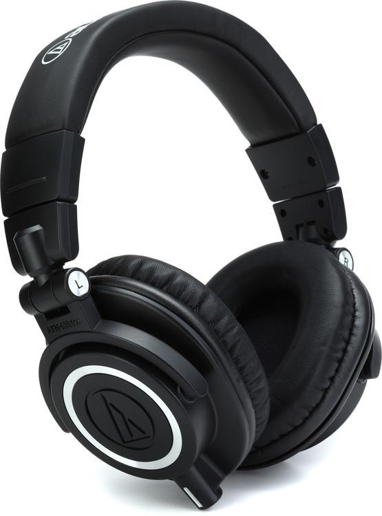 Audio-Technica ATH-M50x Closed-back Studio Monitoring Headphones image 1
