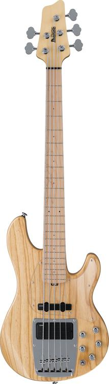 Ibanez ATK1205 5-string Bass - Natural image 1