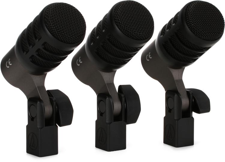 Audio-Technica ATM230PK Drum Microphone 3-Pack image 1