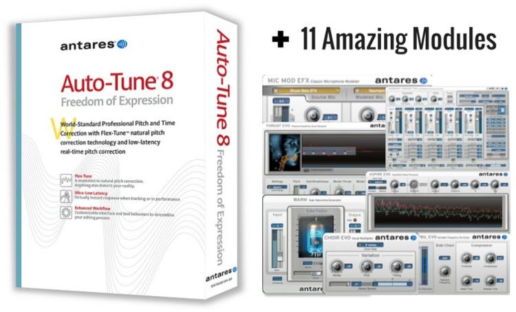 Antares Auto-Tune Vocal Studio Plug-in Bundle - Native image 1