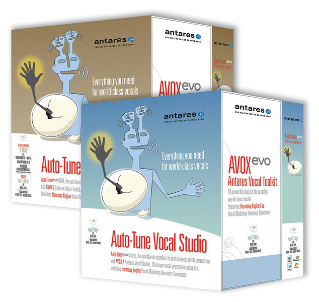 Antares Auto-Tune Vocal Studio Native w/AVOX Evo image 1