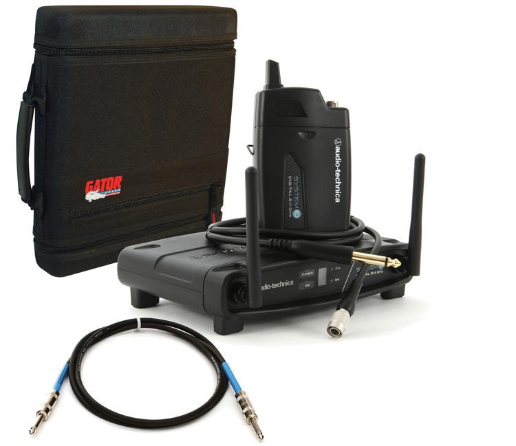 Audio-Technica System 10 Digital Wireless Guitar System Bundle image 1
