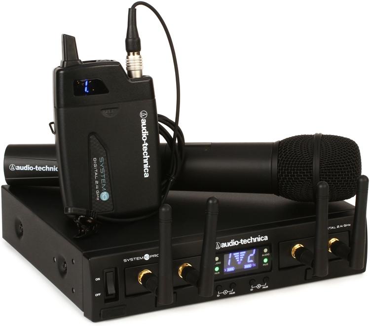 Audio-Technica System 10 Pro Digital Wireless - Lavalier/Handheld System image 1