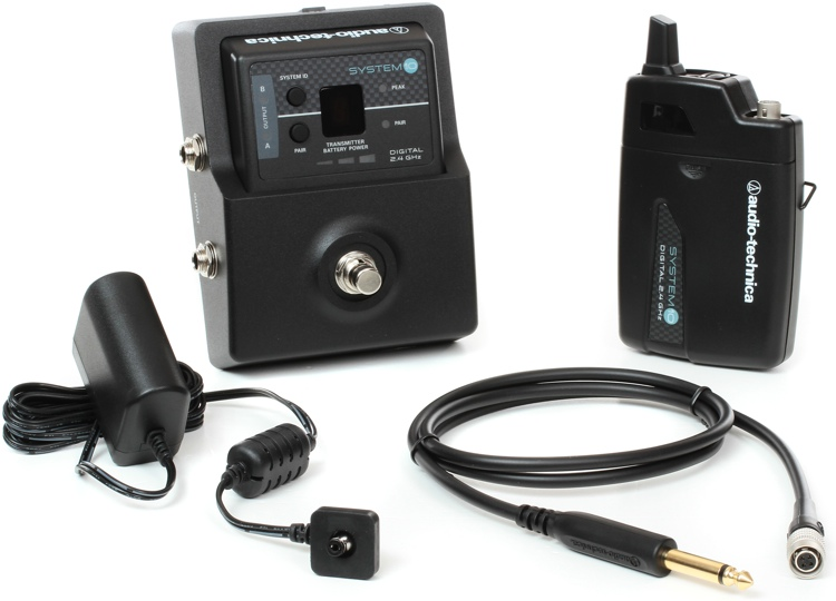 Audio-Technica System 10 Digital Wireless - Guitar Stompbox Pedal image 1