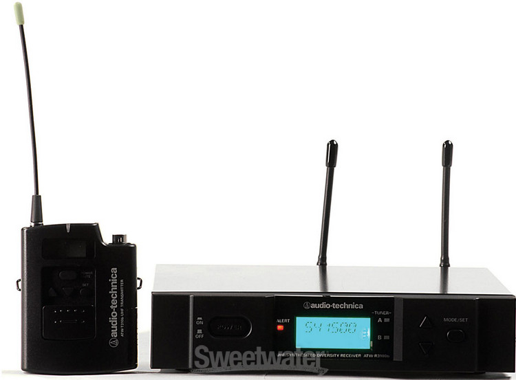 Audio-Technica 3000 Series Wireless ATW-3110b - D-band 655.500 - 680.375 MHz image 1