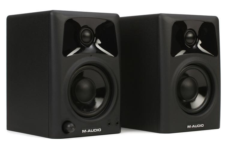Acoustic Research Studio Monitor : M audio av quot powered studio monitors sweetwater