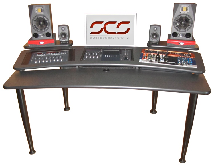 Sound Construction AVM 6x3 Audio Video Mixing/Mastering Desk image 1