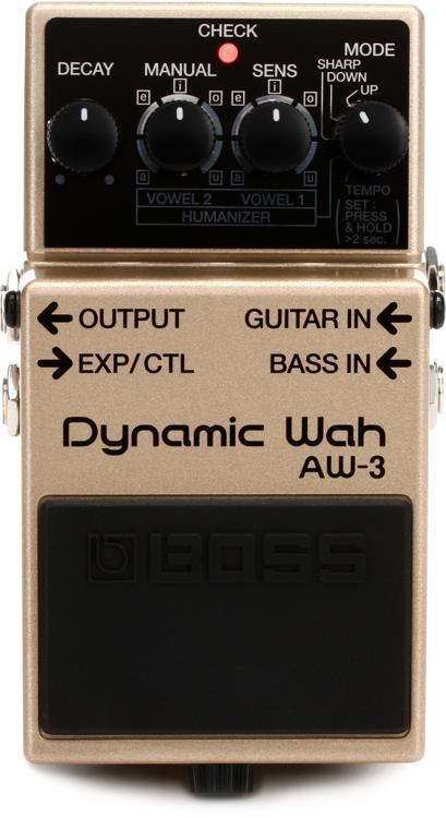 Boss AW-3 Dynamic Wah Pedal image 1