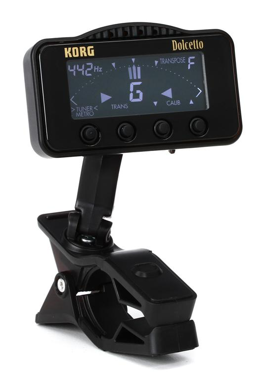 Korg AW3M Dolcetto Clip On Tuner/Metronome for Orchestral Instruments image 1