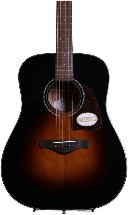 Ibanez AW400 - Brown Sunburst image 1