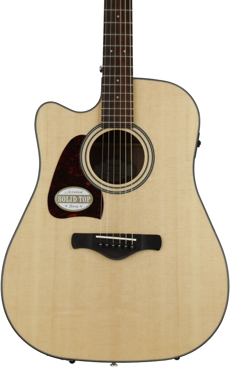 Ibanez AW400LCE Left-handed - Natural image 1