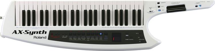 Roland AX-Synth 49-Key Keytar Synthesizer - Pearl White image 1