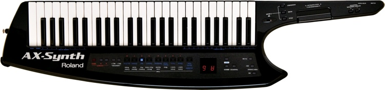 Roland AX-Synth 49-Key Keytar Synthesizer - Black Sparkle image 1