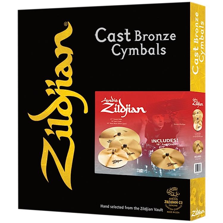 Zildjian A Zildjian 4 Pack image 1