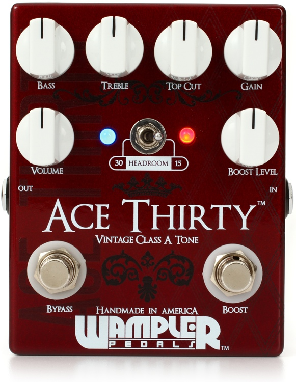 Wampler Ace Thirty Overdrive Pedal image 1