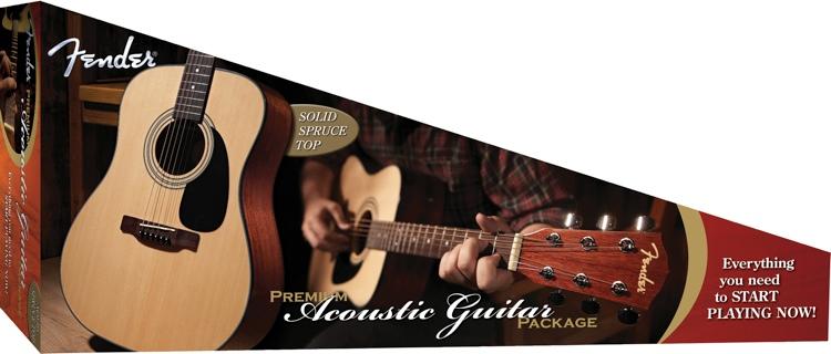 Fender DG-8S Acoustic Pack - Natural image 1