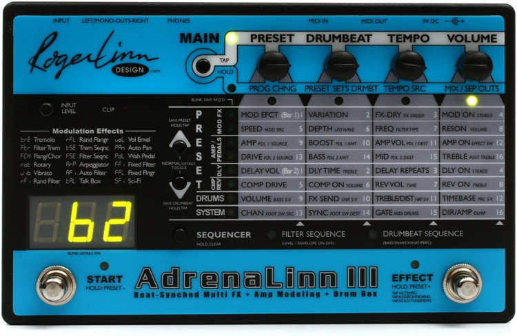 Roger Linn Design AdrenaLinn III Multi-effects Processor image 1