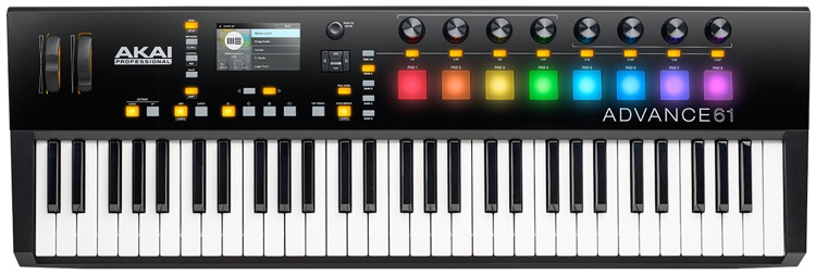 akai professional advance 61 keyboard controller sweetwater. Black Bedroom Furniture Sets. Home Design Ideas
